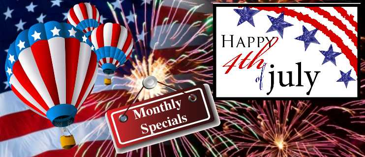 July 2015 Monthly Specials